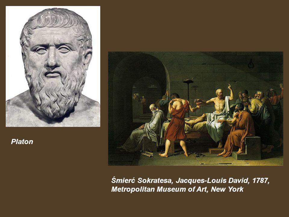 Platon Śmierć Sokratesa, Jacques-Louis David, 1787, Metropolitan Museum of Art, New York
