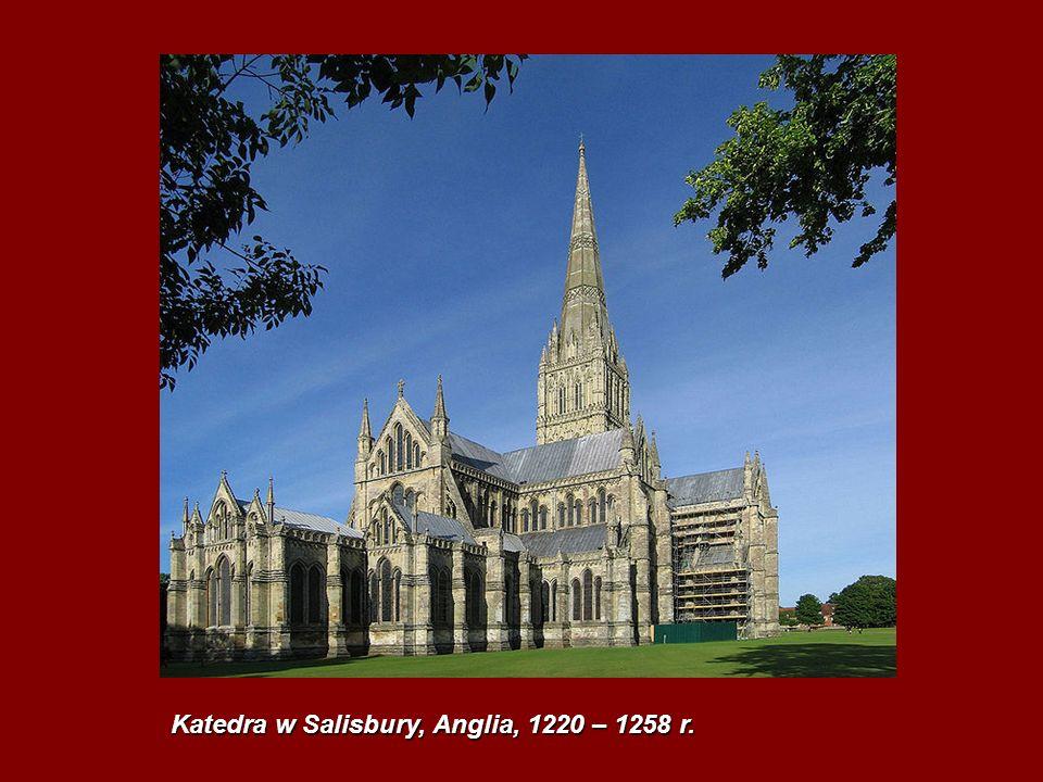 Katedra w Salisbury, Anglia, 1220 – 1258 r.
