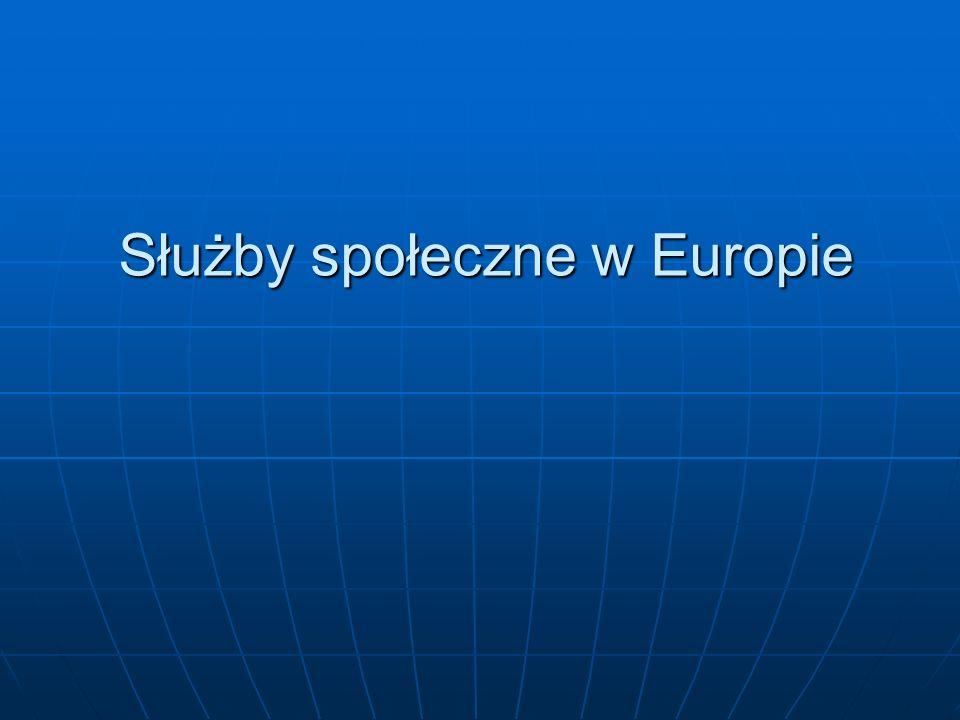 Służby społeczne w Europie