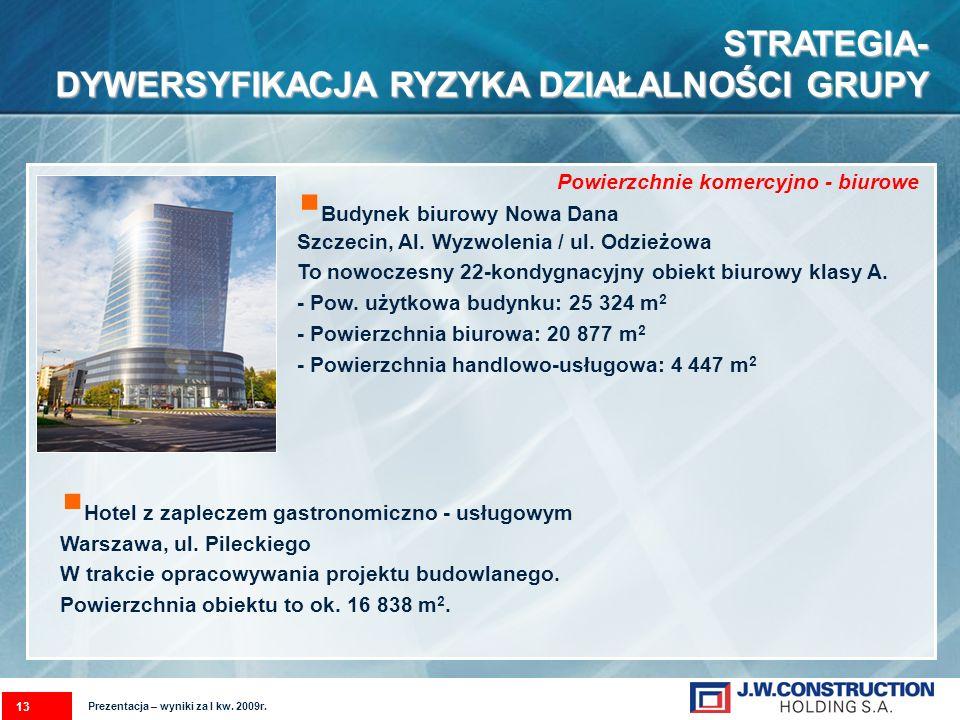 Budynek biurowy Nowa Dana Szczecin, Al. Wyzwolenia / ul.