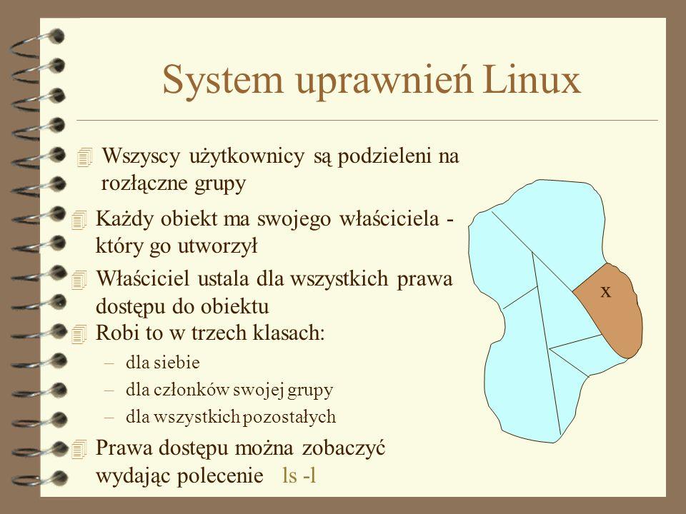 Specjalne katalogi w Unixie 4. 4.. 4 / 4 ~ 4 public_html => http://www.zie.pg.gda.pl/~login