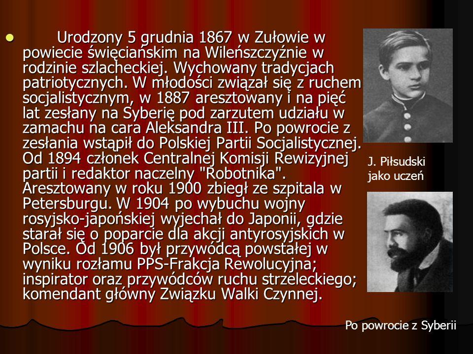 Po wybuchu I wojny światowej skierował na Kielce (12 VII 1914) tzw.