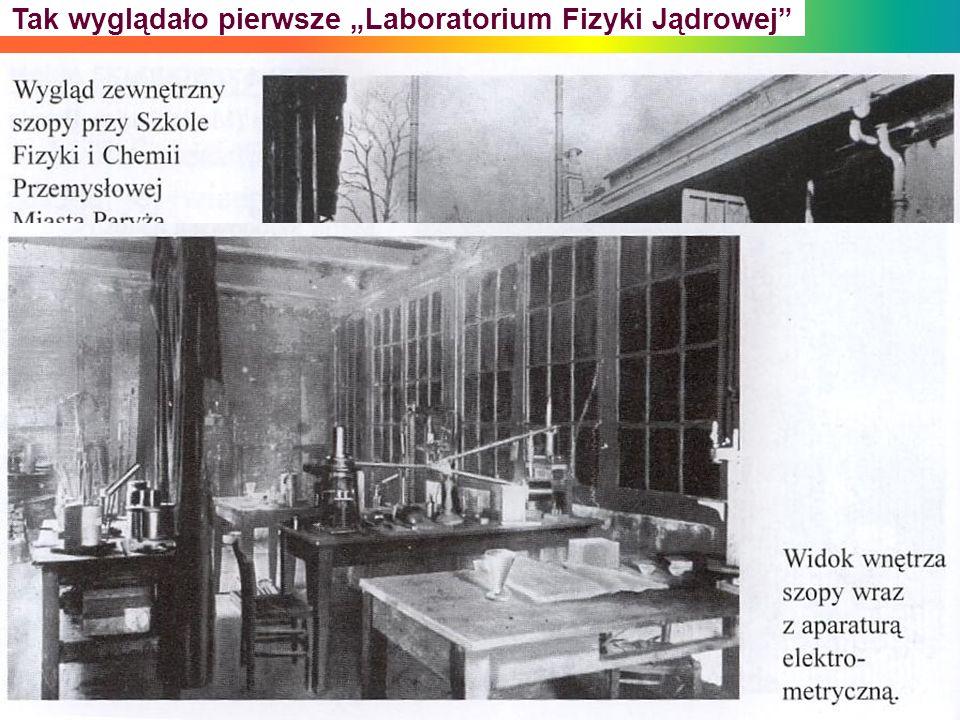 Tak wyglądało pierwsze Laboratorium Fizyki Jądrowej