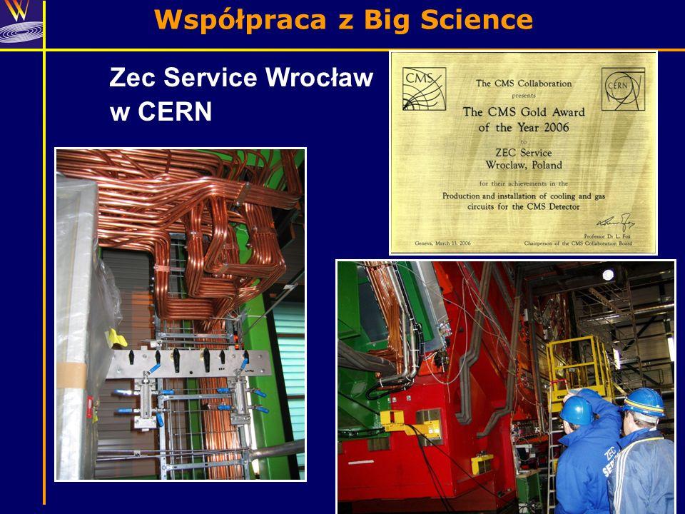 Zec Service Wrocław w CERN
