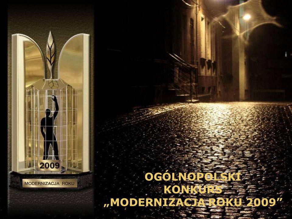 kategoria: Obiekty Sakralne OGÓLNOPOLSKI KONKURS MODERNIZACJA ROKU 2009