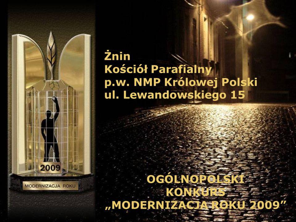 Żnin Kościół Parafialny p.w. NMP Królowej Polski ul.