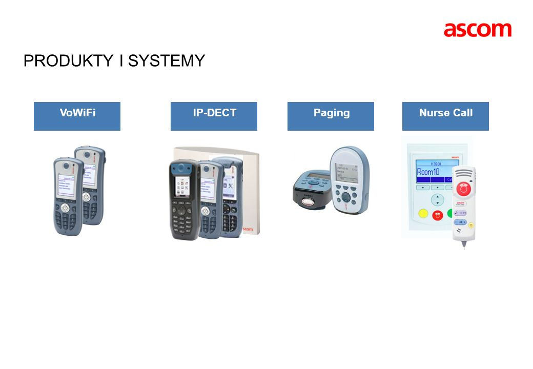 WIRELESS TASK MANAGEMENT Hotel Reception Hotel Staff Cleaning Hotel guests Room service Luggage pickup Hotel staff roster on at start of shift Hotel guests requesting services Automatic or manual task distribution supervised by reception Hotel staff accepts tasks and reports tasks done with handsets All events are logged and stored Cleaning Luggage pickup Room service Receptionist can overview workflow in real-time Done