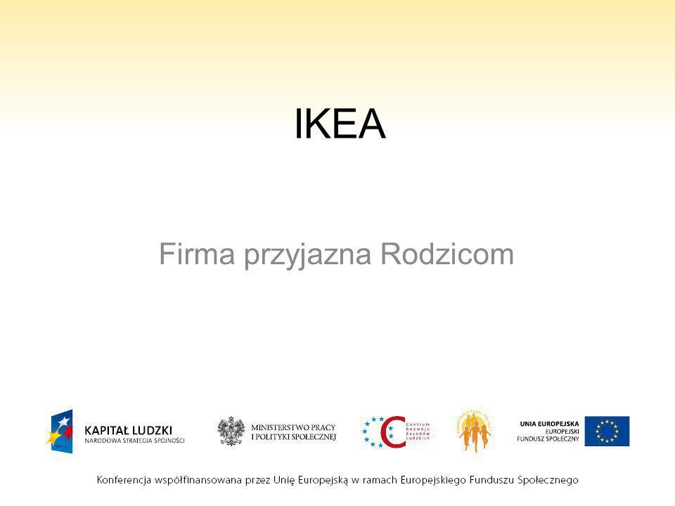 IKEA Firma przyjazna Rodzicom