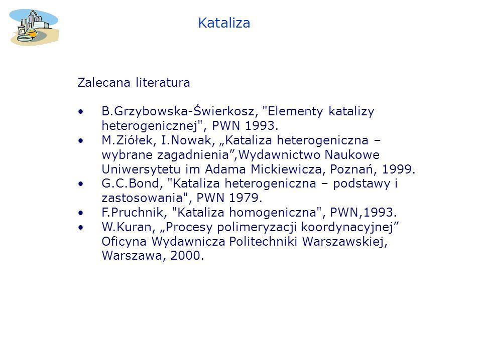 Zalecana literatura B.Grzybowska-Świerkosz,