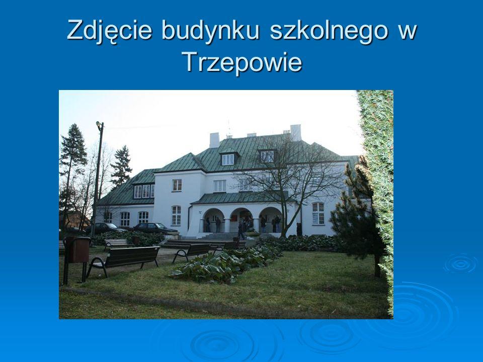 Zdjęcie budynku szkolnego w Trzepowie
