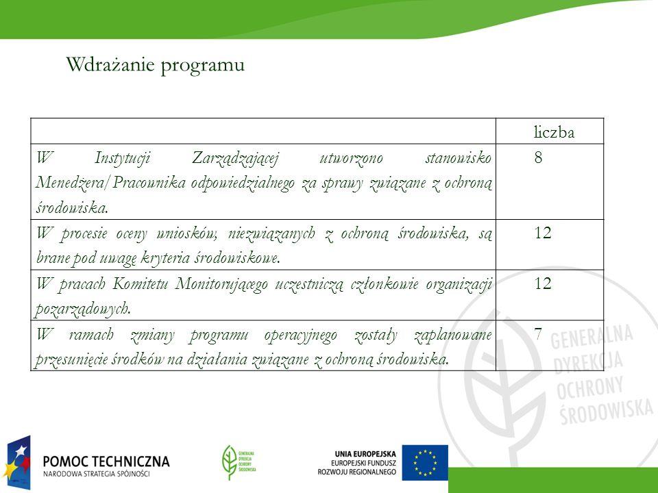 Krótki dokument podsumowujący: Doświadczenia związane ze strategiczną oceną oddziaływania na środowisko i jej wpływem na programy operacyjne – rekomendacje na przyszłość; Obszary dofinansowania oraz kierunki realokacji środków w obszarze środowisko; Kryteria środowiskowe; Menedżer środowiskowy – rola oraz zadania, rekomendacje na przyszłość.