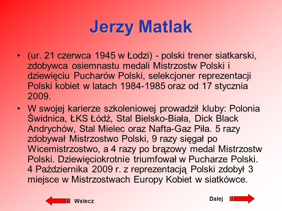 Marcel Gromadowski nr na koszulce 10 Wzrost 201 cm Waga 100 kg data urodzenia 19.12.1985 Pozycja atakujący zasięg w ataku 358cm zasięg w bloku 332 cm Klub Paris Volley poprzednie kluby Wayel Bolonia (2008-2009) Copra Piacenza (2007-2008) Mostostostal Kędzierzyn Koźle (2004-2007) SMS Spała (2003-2004) Gwardia Wrocław (2000-2003) sukcesy klubowe II miejsce w Lidze Mistrzów z Copra Piacenza (2008) wicemistrz Włoch z Copra Piacenza (2008) sukcesy reprezentacyjne mistrz świata juniorów (2003) wicemistrz Europy kadetów (2003) wstecz