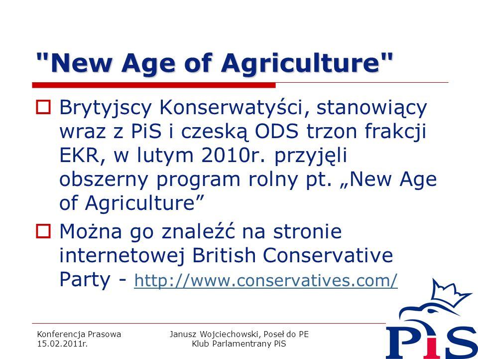 Konferencja Prasowa 15.02.2011r. Janusz Wojciechowski, Poseł do PE Klub Parlamentrany PiS 8
