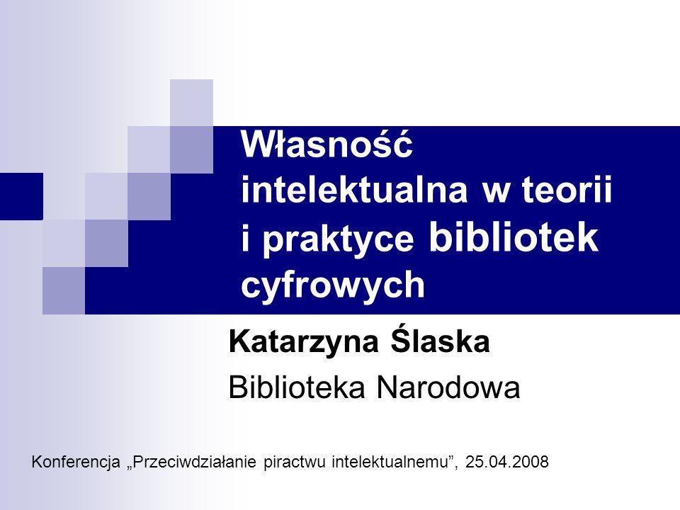 The European Digital Libraries Initiative High Level Expert Group/Copyright Subgroup Grupa robocza powołana w 2006 roku w ramach inicjatywy i2010 – Europejskie społeczeństwo informacyjne na rzecz wzrostu i zatrudnienia Raport z 16.10.2006, określający podstawy działania grupy ds.