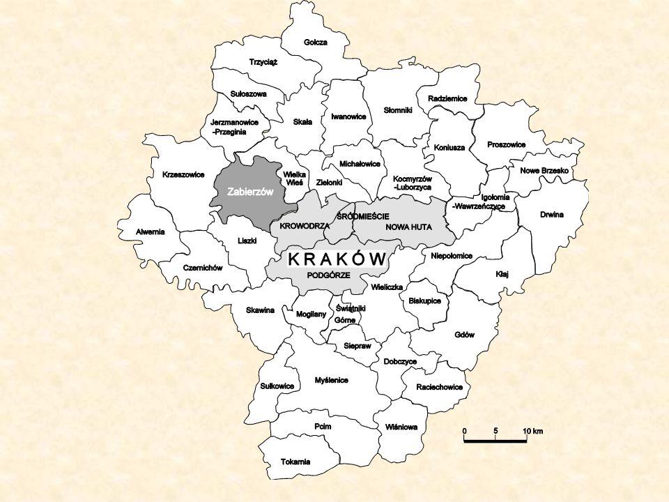 4. Wyniki prac synchronizacyjnych na obiektach testowych gmina Zabierzów licząca około 9928 ha i 16000 działek ewidencyjnych o średniej powierzchni 0,