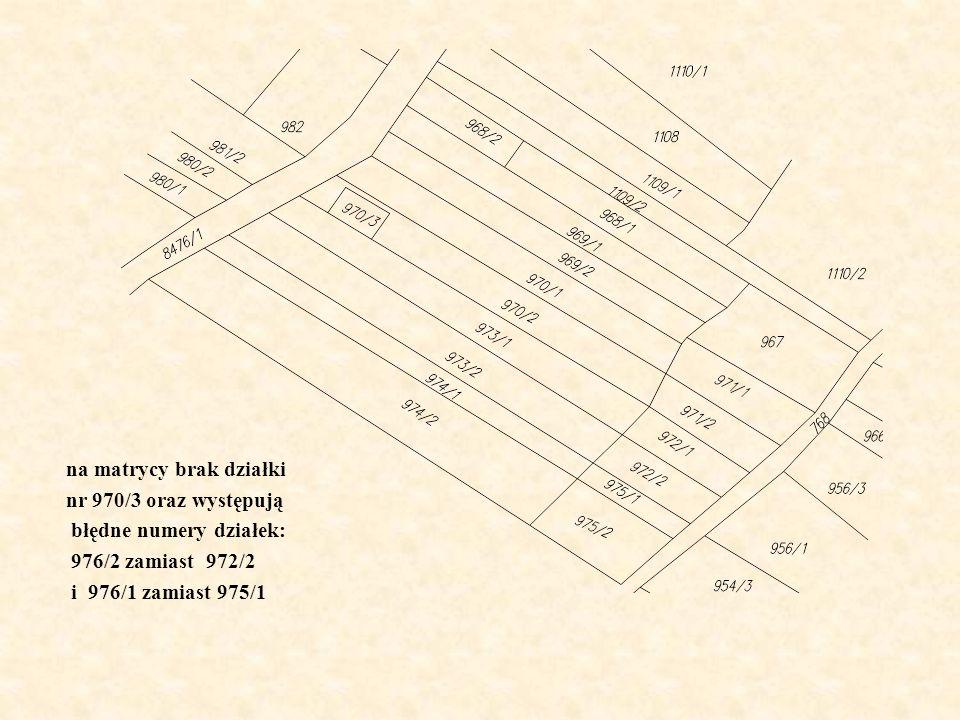 Nazwa obrębu [0,1](1,2](2,3](3,4](4,5](5,10 ] > 10Dz 0Liczba działek Podwilk24,020,614,611,98,313,96,8-2890 na matrycy brak działki nr 970/3 oraz wyst