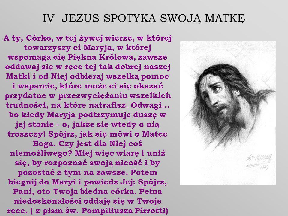 Jezu mój, najsłodszy, najukochańsze Dobro nieskończone.