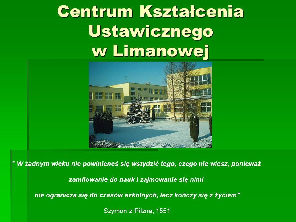 Centrum Kształcenia Ustawicznego w Limanowej jest PUBLICZNĄ (bezpłatną) placówką kształcenia dorosłych.