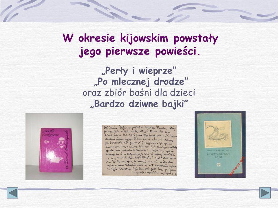 Szkoła Podstawowa im. Kornela Makuszyńskiego w Turośli Jeśli zostanie patronem, tak będzie brzmiała nazwa naszej szkoły: (1884-1953)