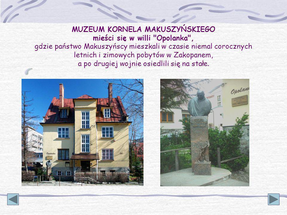 Kornel Makuszyński zmarł 31 lipca 1953 roku. Pochowany został na Cmentarzu Zasłużonych. Cmentarz ten zwany jest w góralskiej gwarze od nazwiska fundat