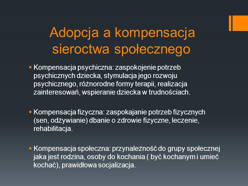 W Polsce jest około 96 tysięcy sierot, większość z nich to sieroty społeczne.