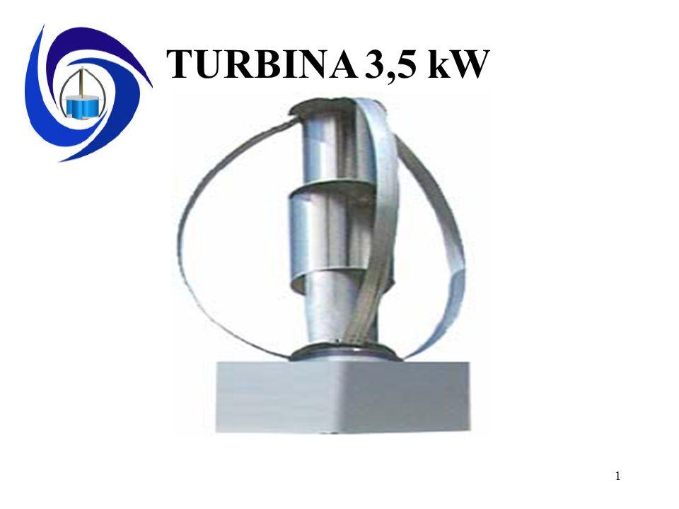 1 TURBINA 3,5 kW