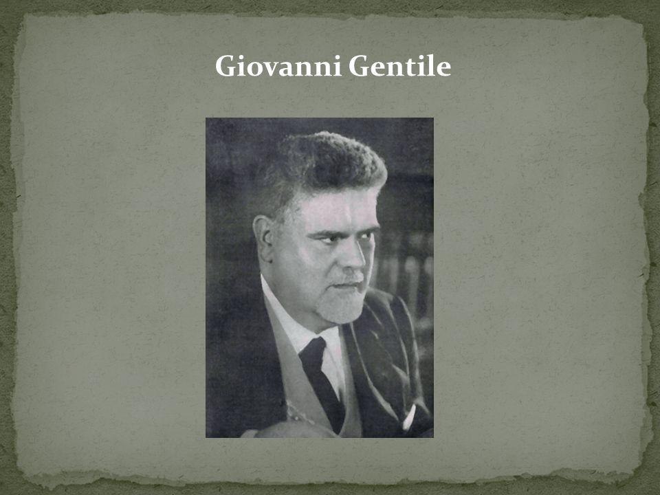 Giovanni Gentile
