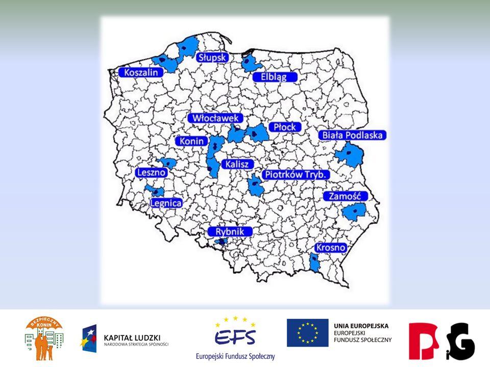 13 porównywalnych aglomeracji: - Struktura administracyjna (powiat grodzki i powiat ziemski) - Zbliżona liczba mieszkańców - W zdecydowanej większości (z wyjątkiem Rybnika) miasta – centra aglomeracji to byłe miasta wojewódzkie.