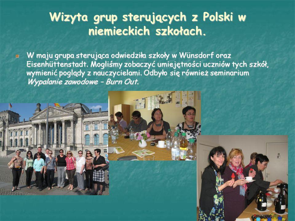 Comenius Regio wrzesień 2011 – wizyta grupy niemieckiej w Klęce.