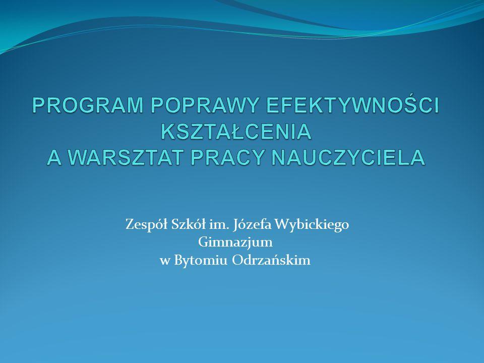 Zespół Szkół im. Józefa Wybickiego Gimnazjum w Bytomiu Odrzańskim