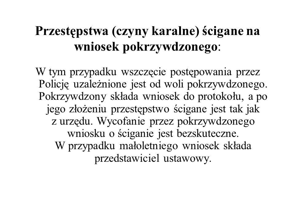 Naruszenie godności osobistej (przestępstwa ścigane z oskarżenia prywatnego) Art.212§1 kk (zniesławienie).