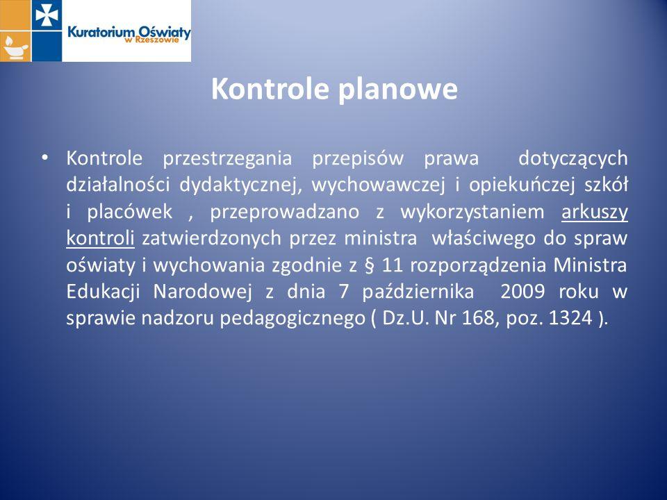 Wnioski z przeprowadzonych kontroli doraźnych Wizytatorzy Wydziału Kontroli KO w Rzeszowie przeprowadzili 317 kontroli doraźnych.