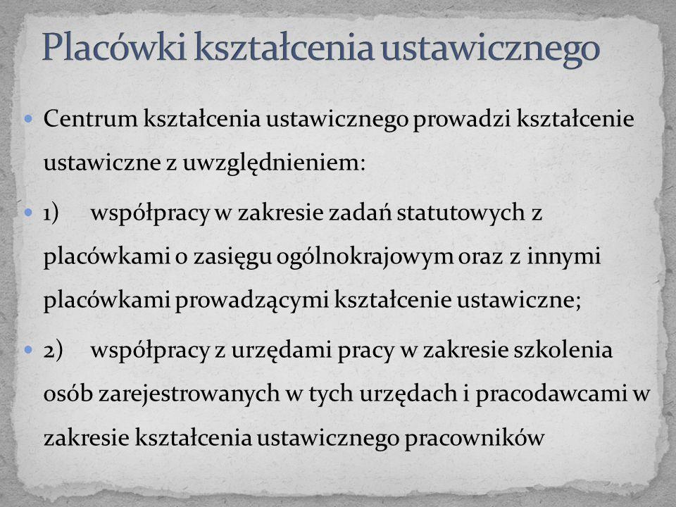 2.Do utożsamienia funkcji szkoły i placówki nie uprawnia również treść § 3 ust.
