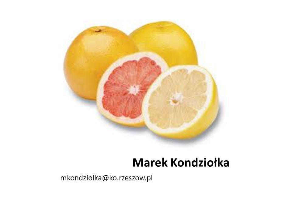 Marek Kondziołka mkondziolka@ko.rzeszow.pl