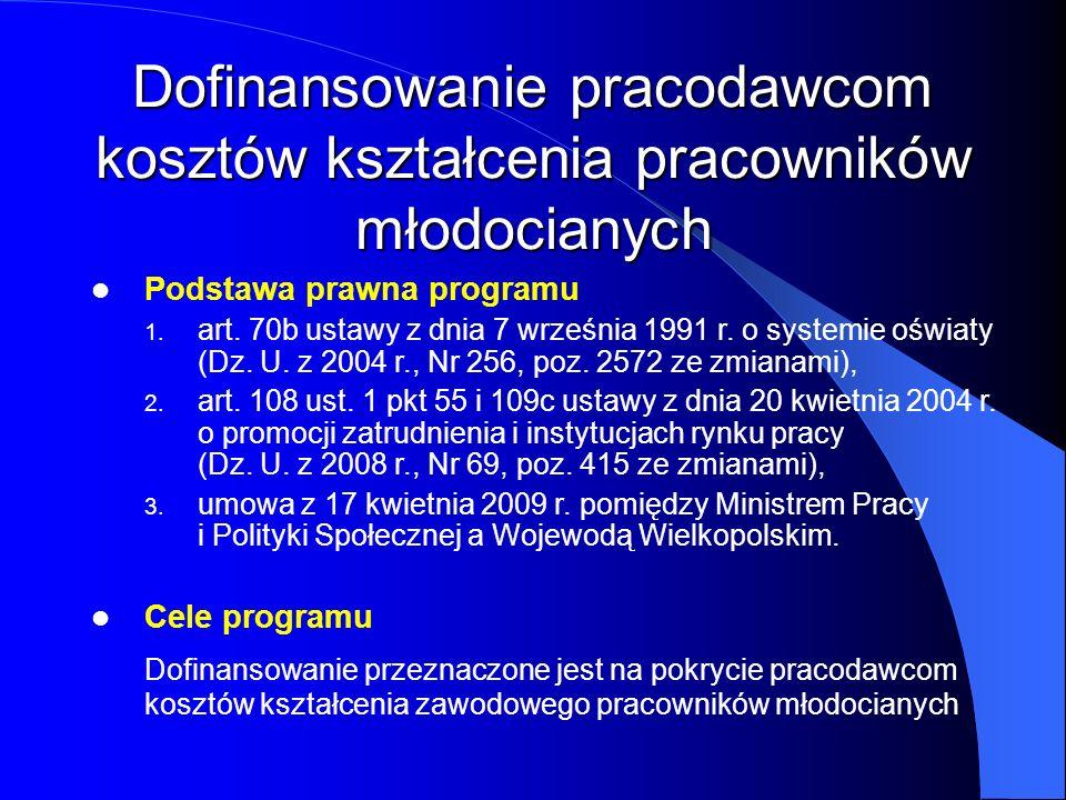 Podstawa prawna programu 1. 1. art. 70b ustawy z dnia 7 września 1991 r. o systemie oświaty (Dz. U. z 2004 r., Nr 256, poz. 2572 ze zmianami), 2. 2. a