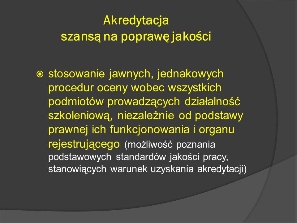 Obszary oceny wg arkusza oceny Kadra dydaktyczna Baza dydaktyczno- lokalowa Dokumentacja przebiegu kształcenia materiały metodyczno- dydaktyczne (w tym programy) Organizacja i realizacja kształcenia