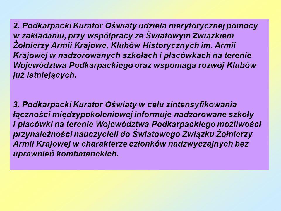 Stan organizacyjny Powiatowego Klubu Historycznego im.