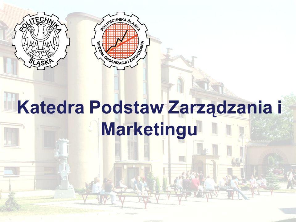 Katedra Podstaw Zarządzania i Marketingu