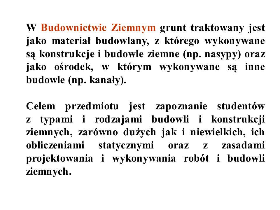1. Bobiński E., Kowalewski J., Krzepkowski W., Maciejewicz A., Nowak S., Tyczyński Z., Wolski W. (1977). Technologia i organizacja robót w budownictwi