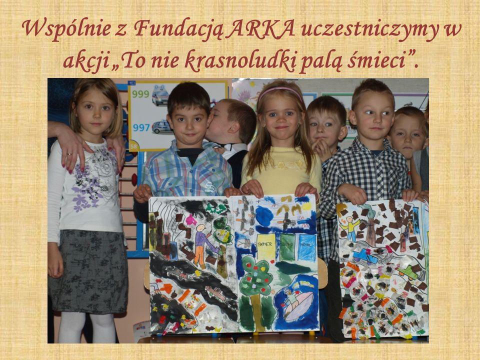 Wspólnie z Fundacją ARKA uczestniczymy w akcji To nie krasnoludki palą śmieci.