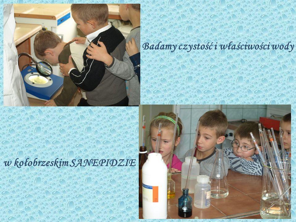 A w przedszkolu – wykonujemy doświadczenia z zastosowaniem wody.