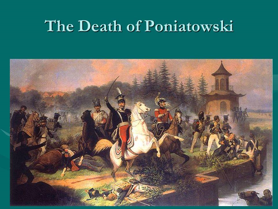 12 października, blisko Lipska z Joahimem Muratem, zostali przy śniadaniu zaskoczeni przez oddziały wroga.