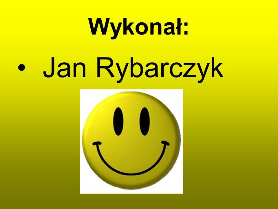 Wykonał: Jan Rybarczyk