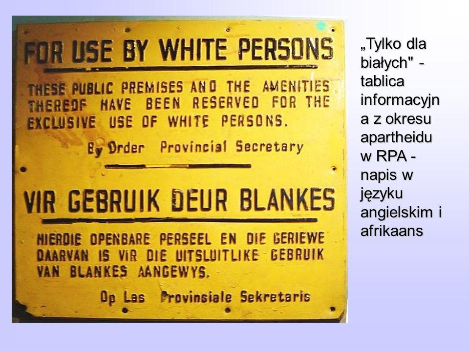 Tylko dla białych