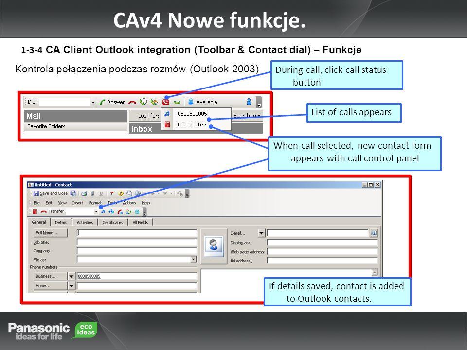 CAv4 Nowe funkcje.