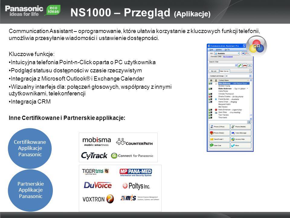Communication Assistant – oprogramowanie, które ułatwia korzystanie z kluczowych funkcji telefonii, umożliwia przesyłanie wiadomości i ustawienie dost