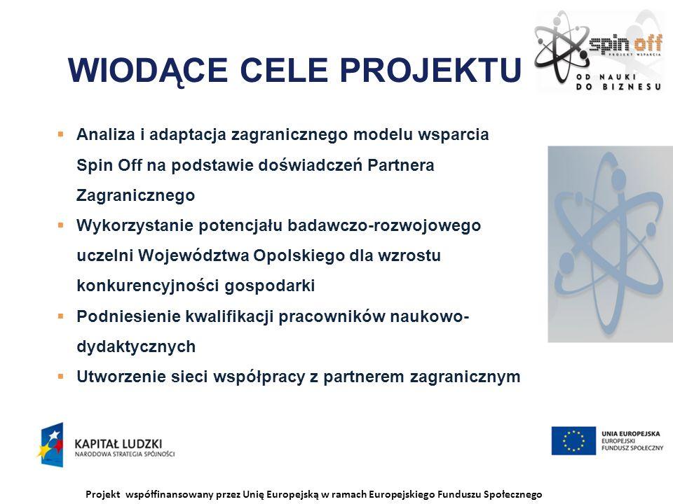 Projekt współfinansowany przez Unię Europejską w ramach Europejskiego Funduszu Społecznego WIZYTY STUDYJNE DREZNO – Spotkanie z Rektorem HTW Drezden