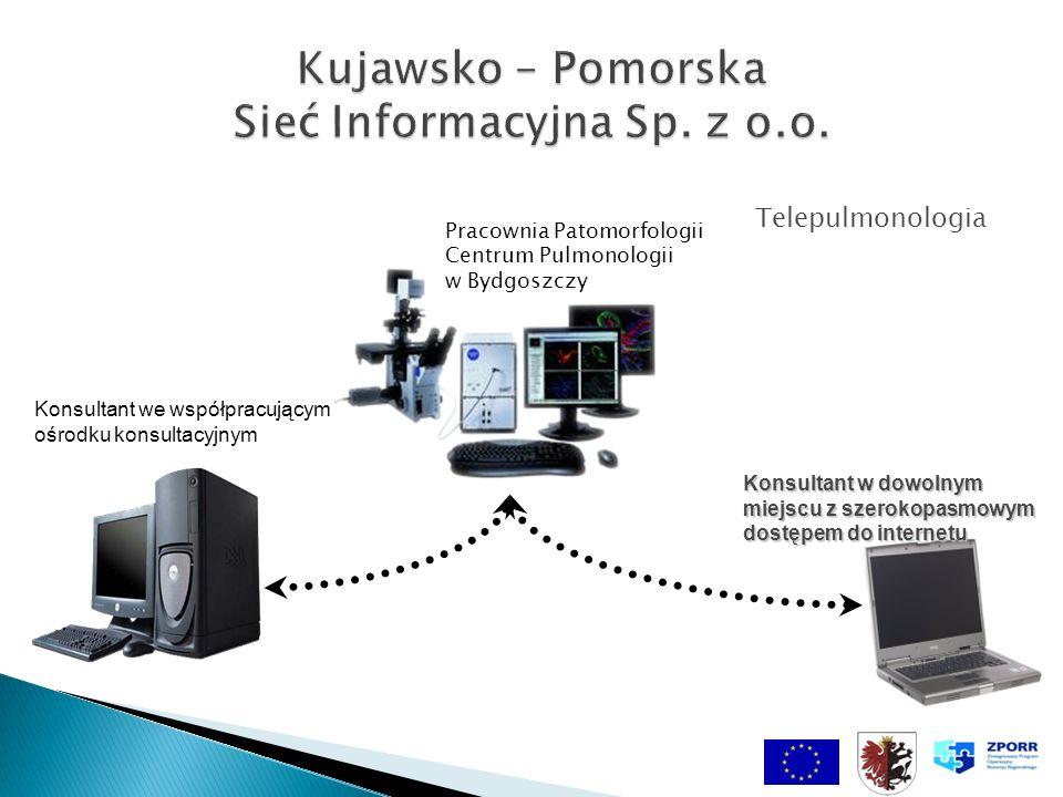 Pracownia Patomorfologii Centrum Pulmonologii w Bydgoszczy Konsultant we współpracującym ośrodku konsultacyjnym Telepulmonologia Konsultant w dowolnym miejscu z szerokopasmowym dostępem do internetu