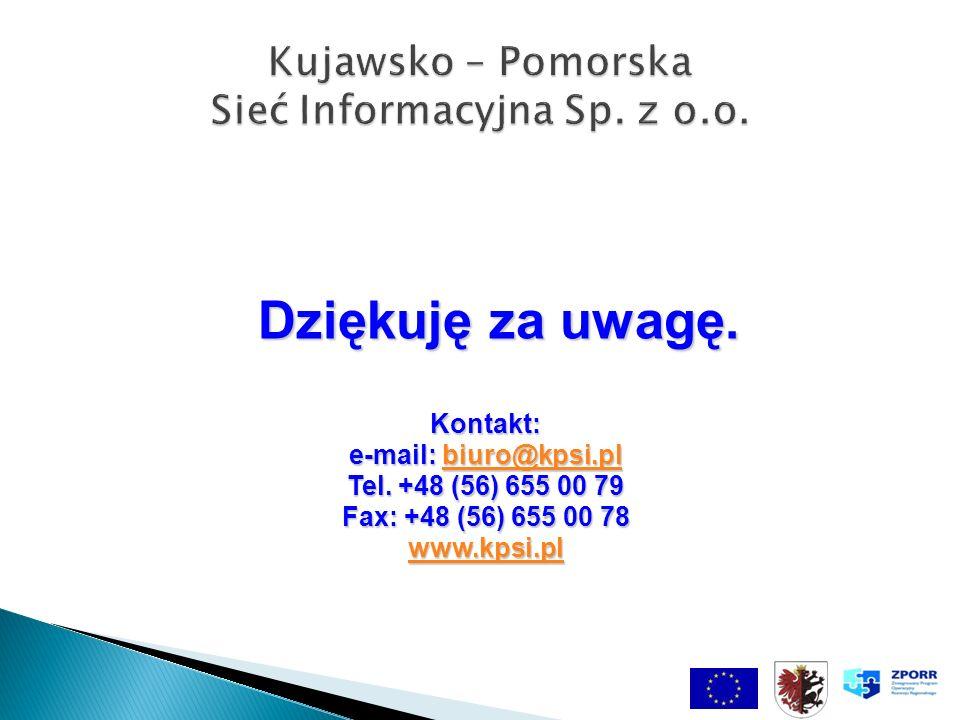 Dziękuję za uwagę. Kontakt: e-mail: biuro@kpsi.pl biuro@kpsi.pl Tel.