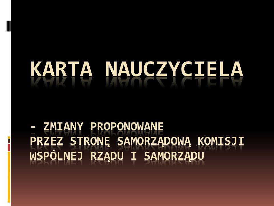Propozycje strony samorządowej KWRiST dot.zmian w uso 5.